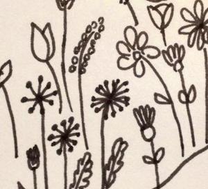Disegno fiori